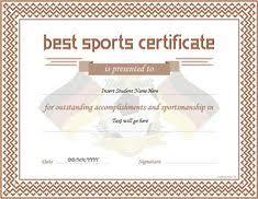 17 Best Certificates Images On Pinterest Cv Template Resume