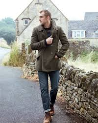 Mens Light Blue Peacoat Few Things More Dashing Than A Man In A Peacoat Well