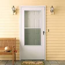 Backyards : Custom Aluminum Storm Doors Screen Spectrum Door ...