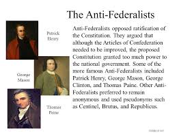 federalists vs anti federalists essay federalists vs anti  federalists vs anti federalists essay gxart orgfederalist vs anti federalist the never ending debate ppt