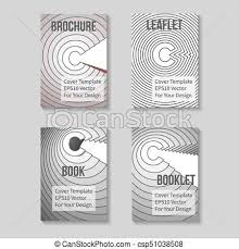 Book Title Page Template Business Report Or Booklet Cover Brochure Layout Poster Presentation Sheet A4 Size Leaflet Flyer Mockup Vector