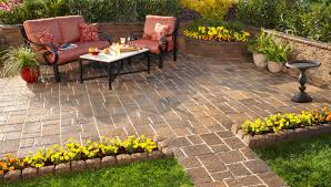 Install Patio Pavers Simple Patio Furniture Sets With How To How To Install Pavers In Backyard