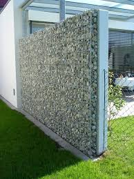 Small Picture modern house design gabions Google Search Fence Pinterest