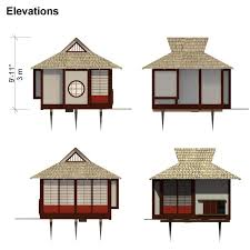 japanese house plans. Japanese Tea House Plans
