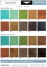 Westcoat Epoxy Color Chart Pin On Acid Stain Color Charts