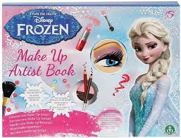 frozen makeup artist book