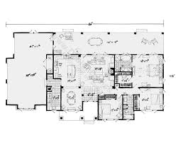 One Story Floor Plan Make Bedroom 2 The Study Somehow Get 2 More Open Floor Plans For One Story Homes