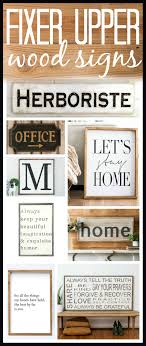 inspirational signs for office. Get The Fixer Upper Look With These Wood Signs. Inspirational Signs For Office
