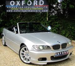 BMW 3 Series bmw 3 series convertible : BMW 3 SERIES 320CI M SPORT CONVERTIBLE, HUGE SPEC, H/K, XENONS ...