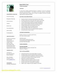 Best Resume Format For Accountant Inspirational Accounting Resume