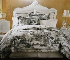 black toile bedding black and white toile