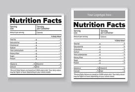 Ingredients Label Template 22 Food Label Templates Free Psd Eps Ai Illustrator