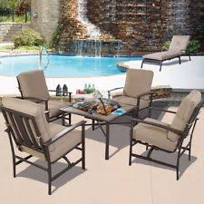 patio chair u0026 bbq stove fire pit fireplace steel frame outdoor 5pcset furniture outdoor patio furniture with fire pit d74 patio