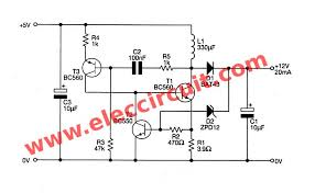 usb v to v dc dc step up converter circuit the complete circuit of the boost converter 5v