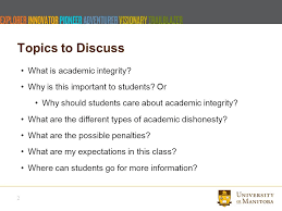 academic integrity let s talk topics to discuss what is 2 topics