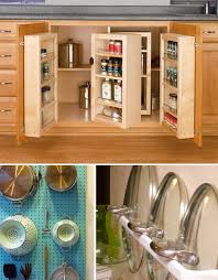Maximizing Cabinet and Wall Space in the Kitchen. Small Apartment Hacks  Kitchen Storage