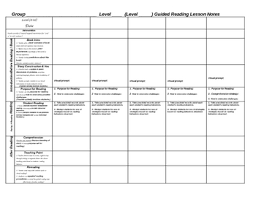 Weekly Lesson Plan Templates Weekly Scaffolded Guided Reading Lesson Plan Template By Jeanine