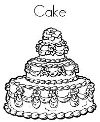 Small Picture Delicious Birthday Cake Coloring Page Birthday Coloring pages of