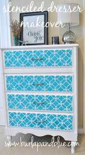 image stencils furniture painting. stenciled dresser with the eastern lattice moroccan stencil image stencils furniture painting u