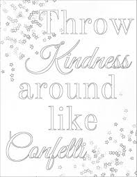 Kindness Coloring Pages Printable Showing Kindness Coloring Pages