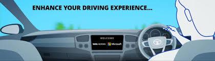 Tata Motors And Microsoft Connected Car Experience Interior Autobics