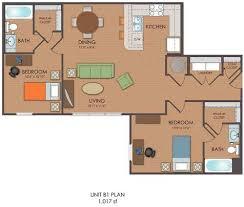 2 bedroom loft. 2 Bedroom Loft - B1 Floor Plan M