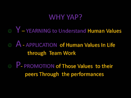 youth awareness programme yap for the academic year 2014 15 the sri sathya sai seva organisation mumbai has propose to have the following programmes under the umbrella of yap on the