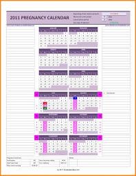 10 Daily Pregnancy Calendar Lobo Development