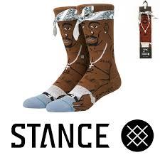 Мужские <b>носки</b> 0Stance <b>Anthem</b> Socks Men's Tupac 2pac Crew ...
