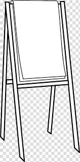 Paper Flip Chart Easel Transparent Background Png Clipart