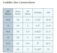 toddler shoe size toddler shoe sizes conversion chart dolap magnetband co