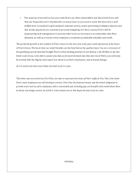 Ceo Thank You Letter To Employees The Letter Sample