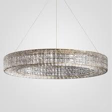 crystal halo chandelier 41 restoration hardware
