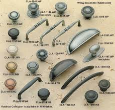 innovative distressed cabinet hardware and kitchen pewter