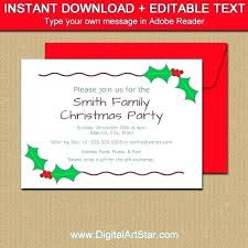 Holiday Party Invitation Template Beautiful Lunch Templates Or ...
