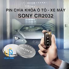 Pin chìa khóa ô tô, xe máy CR2032 lithium 3V chính hãng Sony sản xuất tại  Nhật Bản - Vua pin việt nam - 255 Lương Thế Vinh - Hà Nội