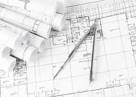 architecture blueprints. Wonderful Architecture Rolls Of Architecture Blueprints And House Plans U2014 Stock Photo With Architecture Blueprints T