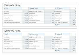 Pay Stub Samples Templates Quickbooks Pay Stub Sample Template Download Payroll Check Stubs