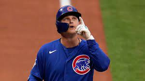 Chicago Cubs leadoff man ...