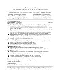 Amusing Maintenance Technician Resume Sample With Additional