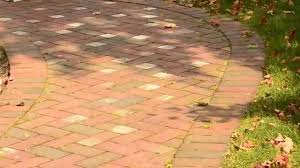 Herringbone Brick Pattern Simple Brick Paver Patio In Herringbone Pattern YouTube