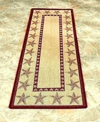 inspirational coastal runner rugs for country star kitchen seashell themed accent indoor outdoor barn french laundry room runner rugs awesome country