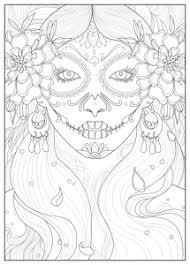 Popolare Disegni Da Colorare Per Adulti Justcolornet Skull