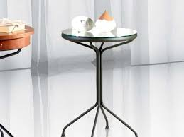 wrought iron side table. Wrought Iron Bedside TableStendhal 1-2 Side Table