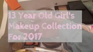 makeup collection 2017 13 year old big collab ellie annabelle