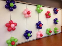 Decoration  balloon flower wall