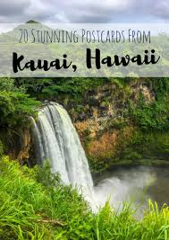 20 postcards from kauai hawaii