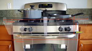 Freestanding Gas Stove Buy Totshield Stove Guard For Free Standing Gas And Electric Stove