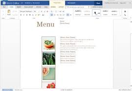 pages menu template best menu maker templates for word