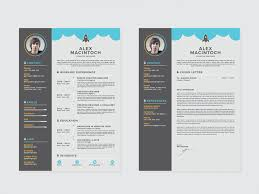Resume And Cover Letter Templates Free Free Creative Resume Template With Matching Cover Letter By